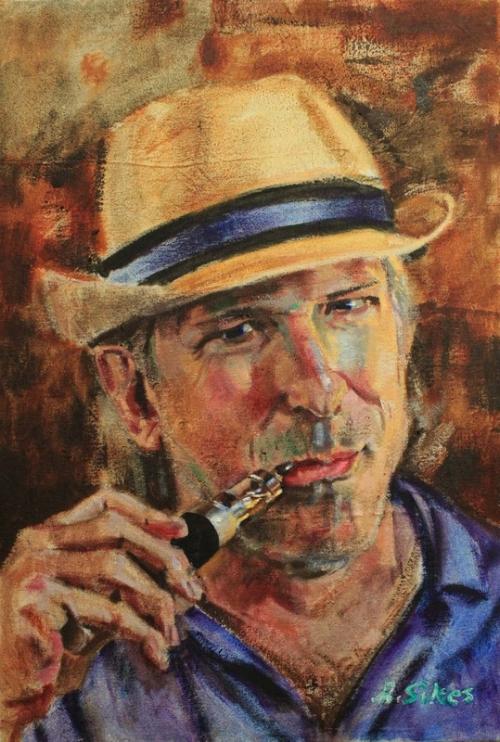 """mark allen duley"", oil on canvas, 2016"