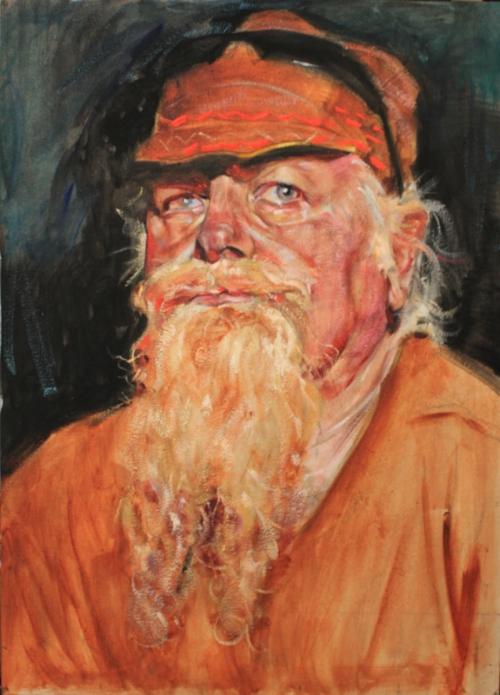 """""""woodrow"""", 2015, oil on canvas"""