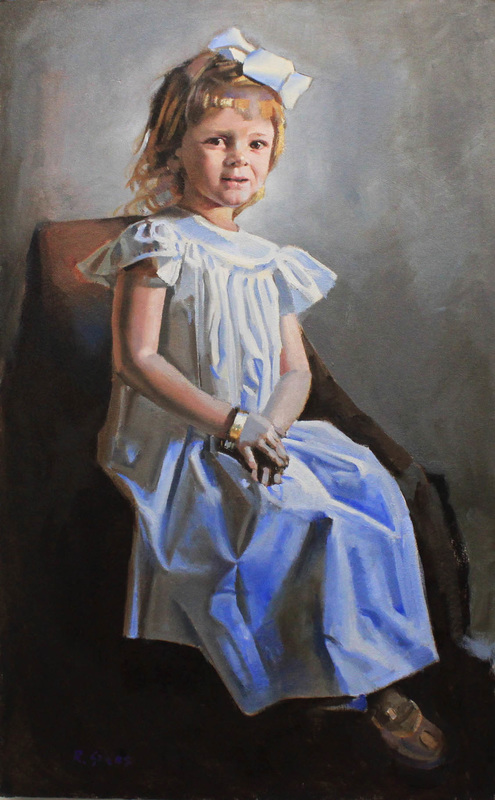 """young lady""   . 2014, oil on canvas"