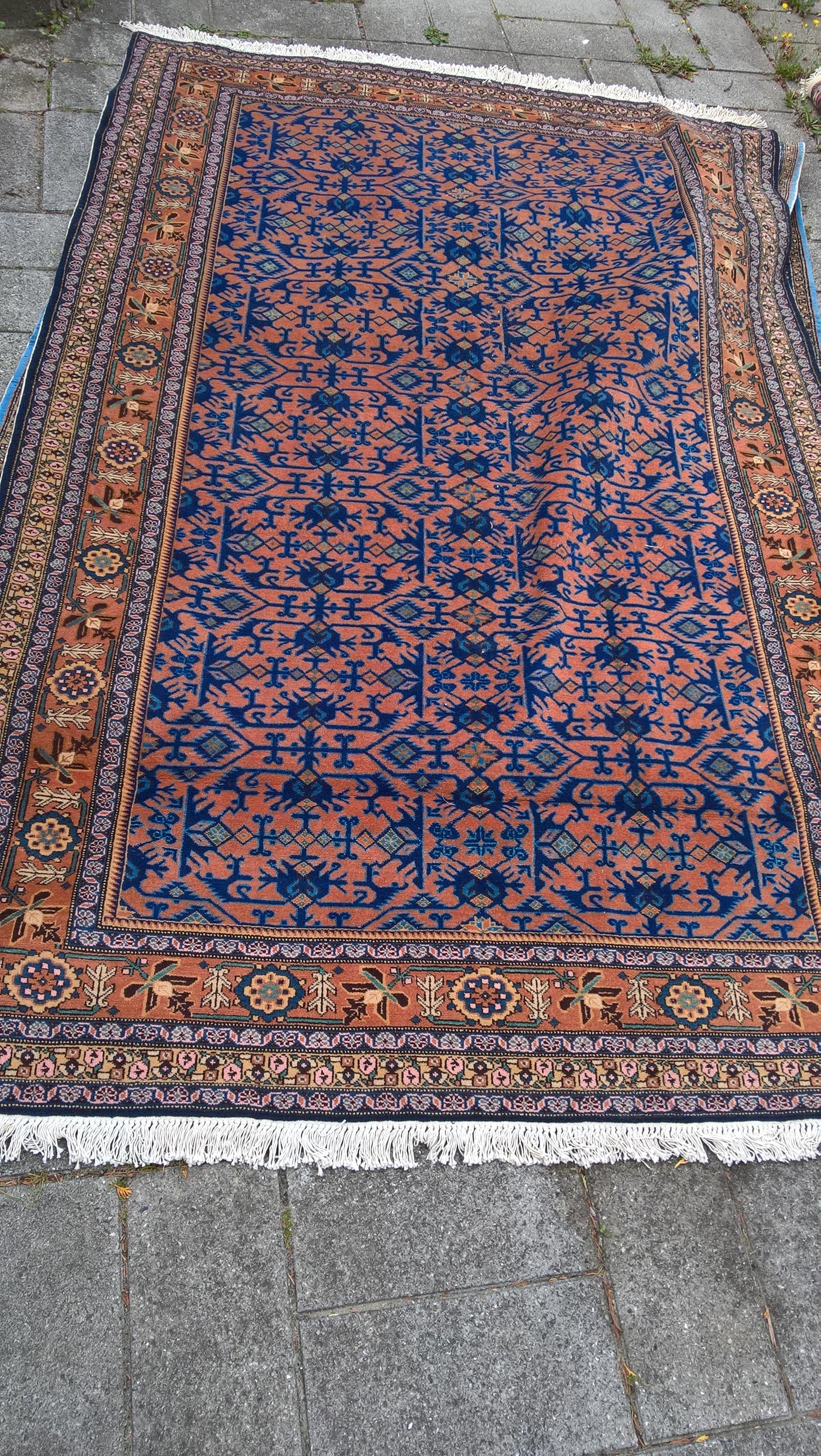 Ægte Persisk tæppe MASLAGAN Mål 270/170 cm (b/d) Tæppe kr. 5.500,- Varenr. Rug16-3460-06-blue brown