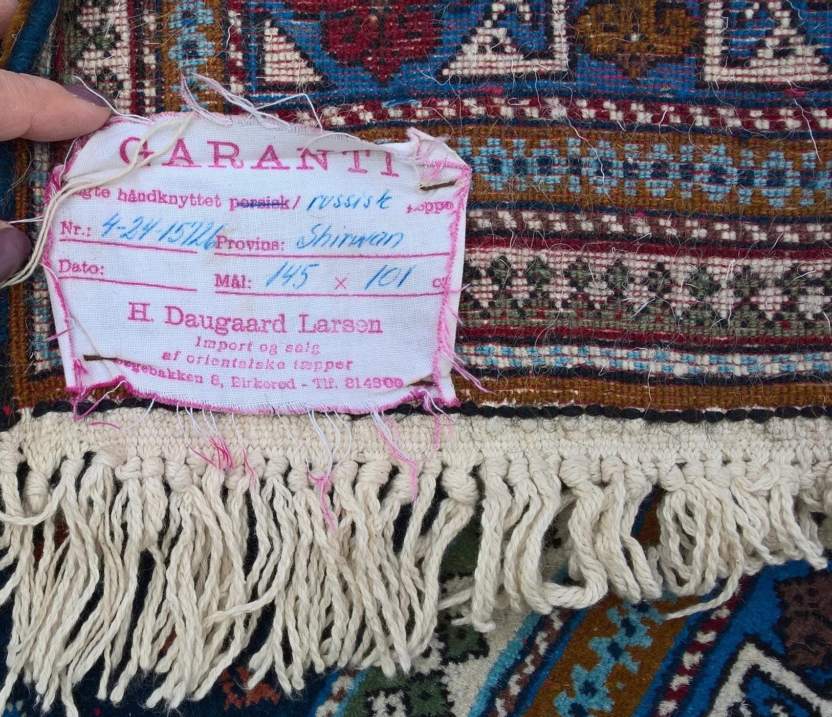 Garanti fra H. Daugaard Larsen