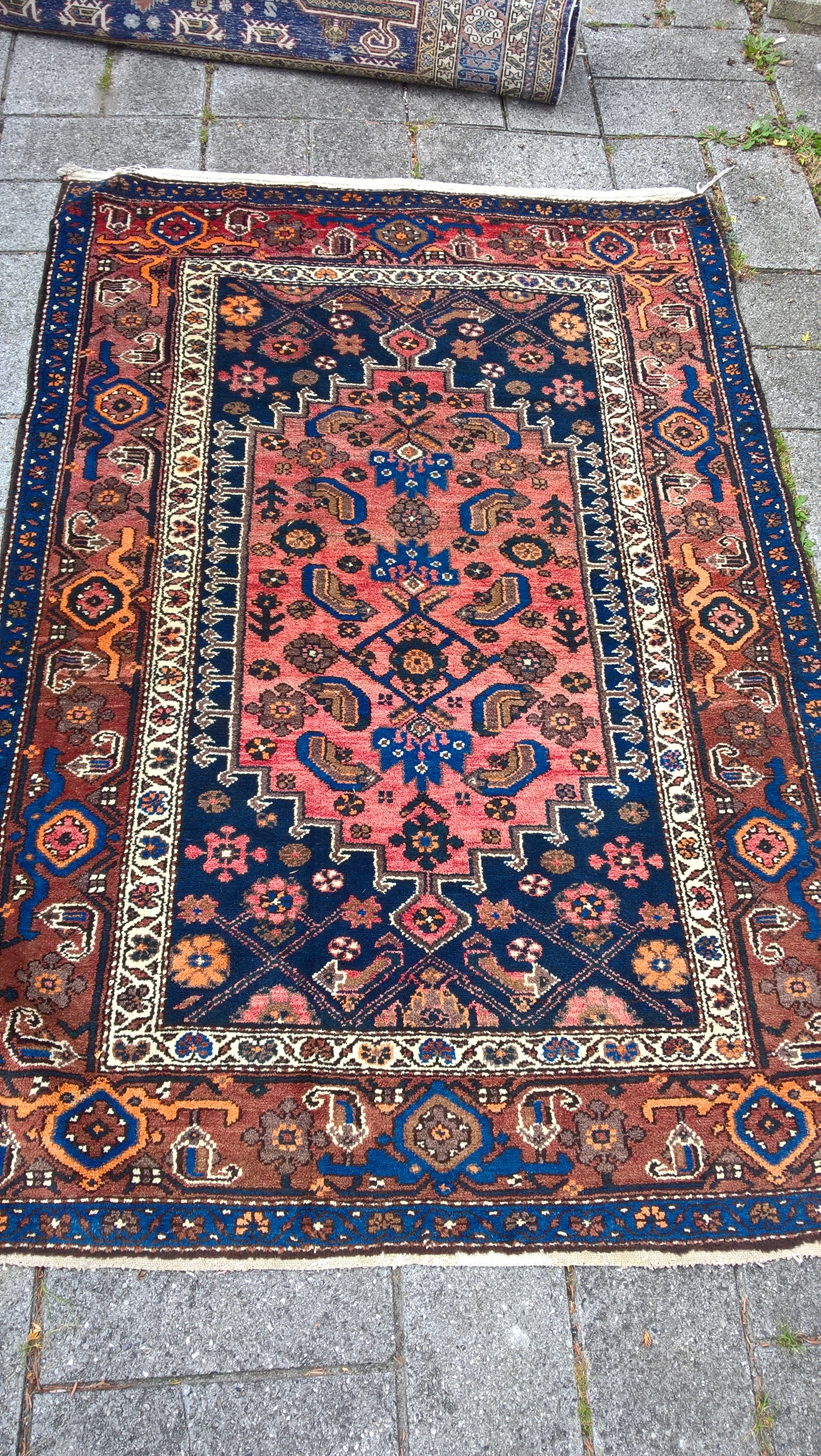 Varenr. Rug16-3460-09-bluebluebrown