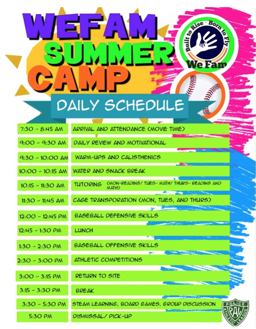 SummerCampSchedule