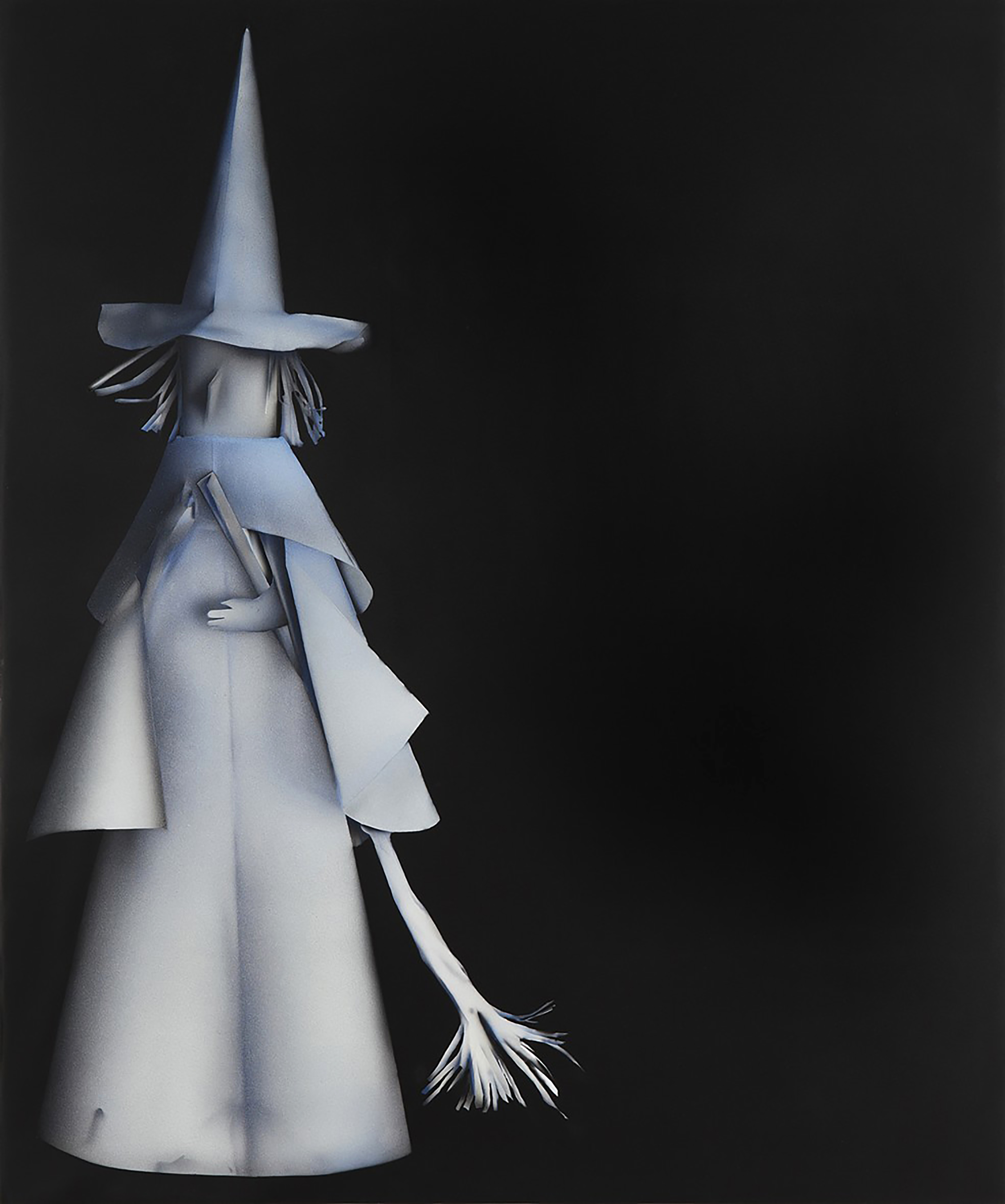 """Kara Joslyn, """"Up the Coven! (witch)"""", 2016. 72 in. x 60 in. Acrylic & polymer car paint on panel. (courtesy: Alex Kershaw)"""
