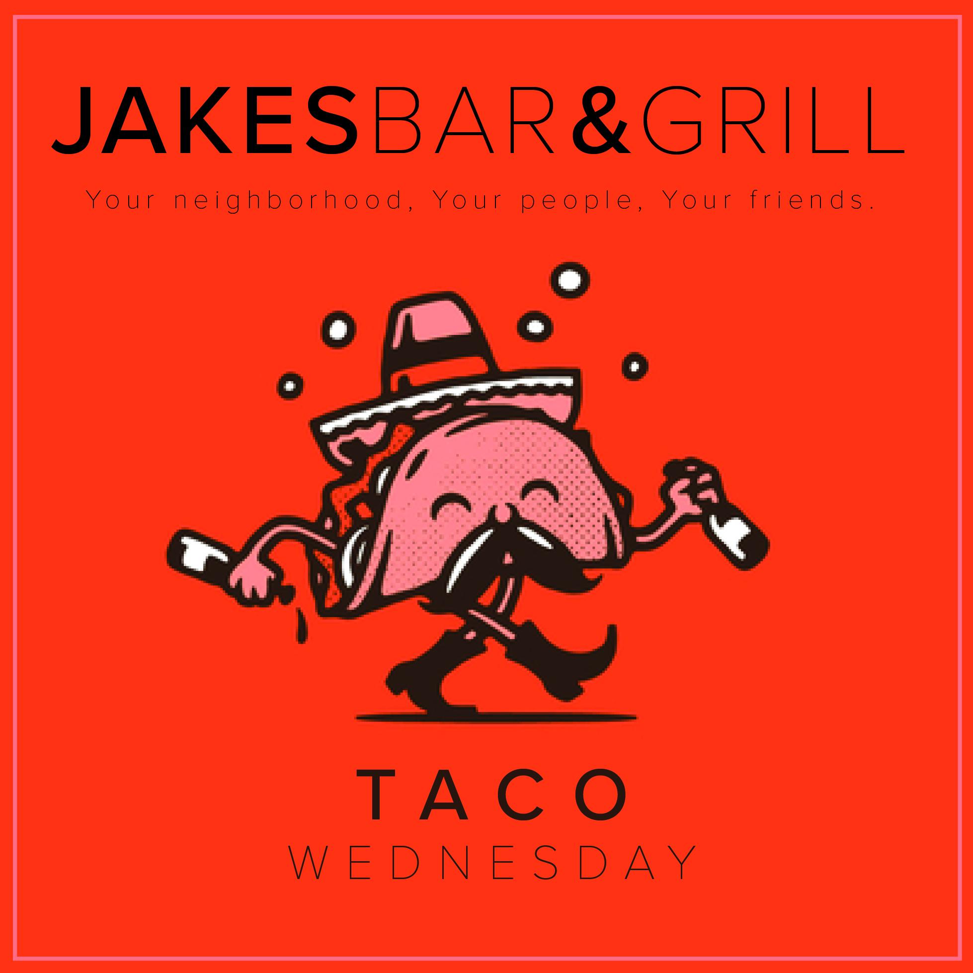 Taco Wednesdays at Jake's