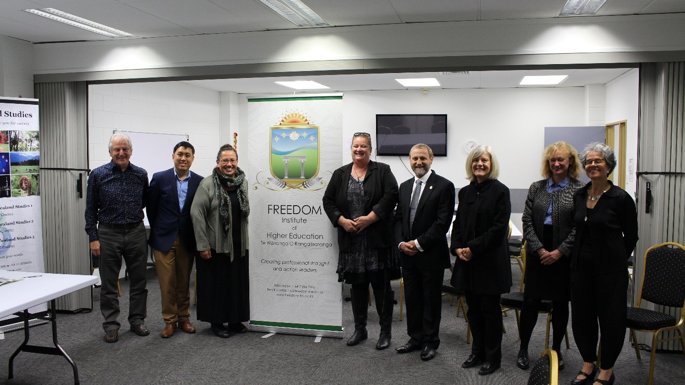 Visiting national and International NZQA Masters Evaluation Panellists