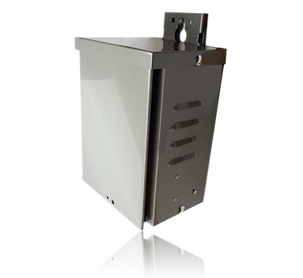 pole mount power supply for broadband cable network by taikan iso scte network infrastructure equipment and hardware