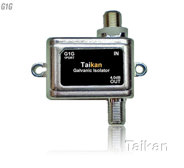 G1G galvanic isolator 5-1218 mhz bandwidth