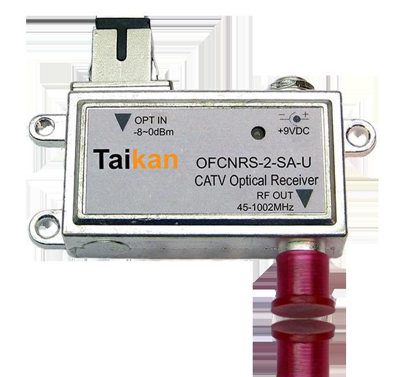OFCNR receive only optical node 1 ghz wdm fiber hfc taikan scte