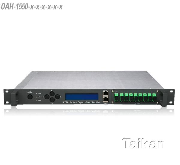high powered EDFA ERBIUM doped fiber amplifier fiber hfc taikan scte