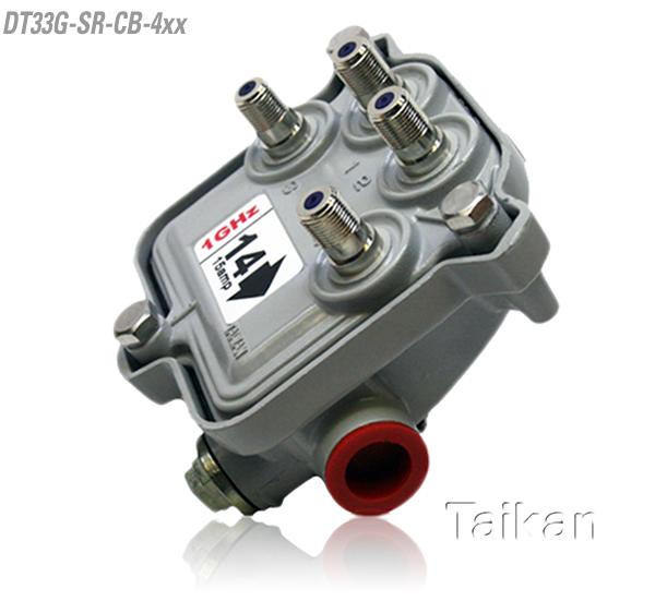 DT33G-SR-CB-4xx Outdoor tap-cisco style-taikan-4 port-four way