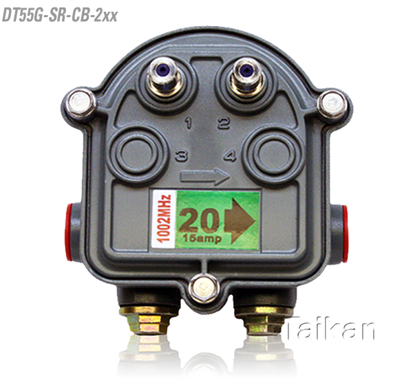 dt55g-sr-cb-2xx Outdoor Tap two way port