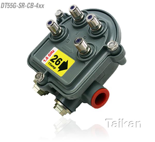 dt55g-sr-cb-4xx four way port outdoor tap