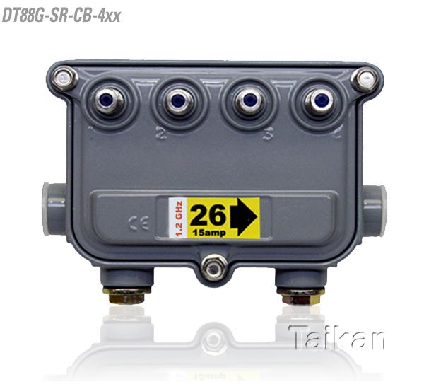 dt88g-sr-cb-4xx 88 series four way port outdoor tap