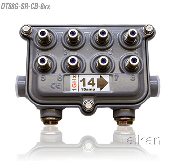 dt88g-sr-cb-8xx 88 series eight way port outdoor tap
