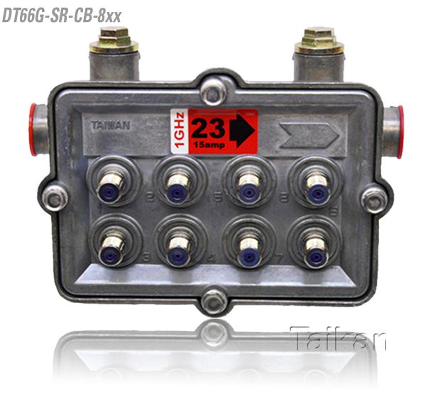 dt66g-sr-cb-8xx 66 series eight way port outdoor tap