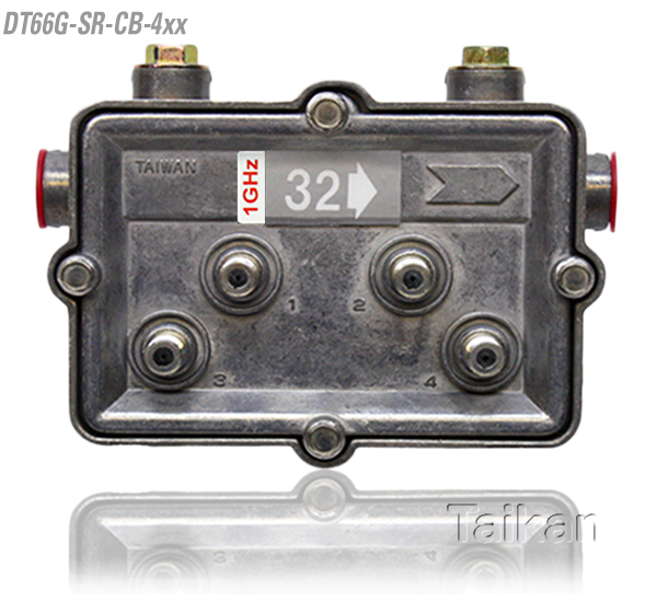 dt66g-sr-cb-4xx 66 series four way port outdoor tap