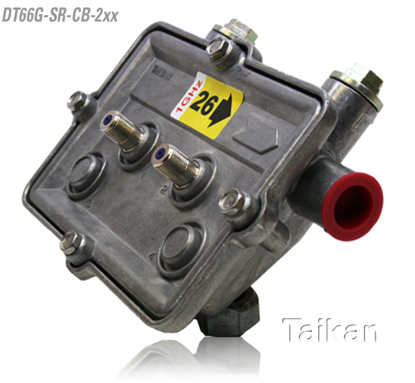 dt66g-sr-cb-2xx 66 series two way port outdoor tap