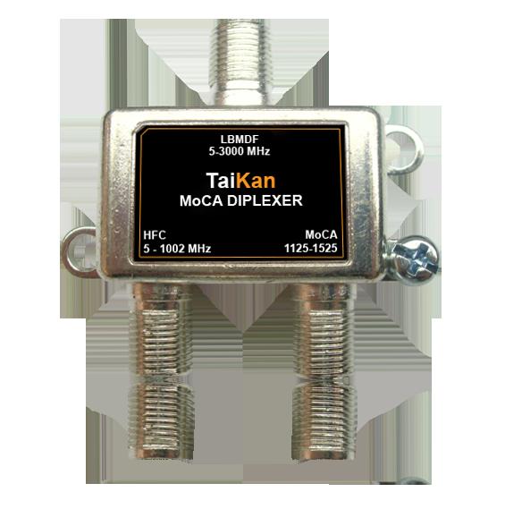 LBMDF MoCA Diplexer hfc port passband bandwidth Taikan scte broadband cable premise