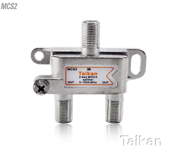 Moca splitter bandwidth Taikan scte broadband cable premise