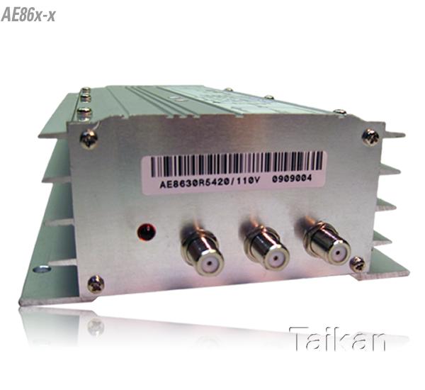 mdu amplifier catv broadband cable premise taikan scte