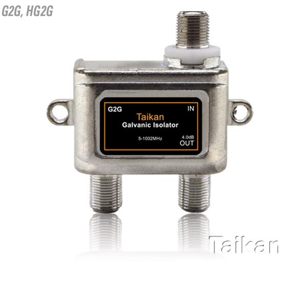 G2G hg2g galvanic isolator 5-1218 mhz bandwidth