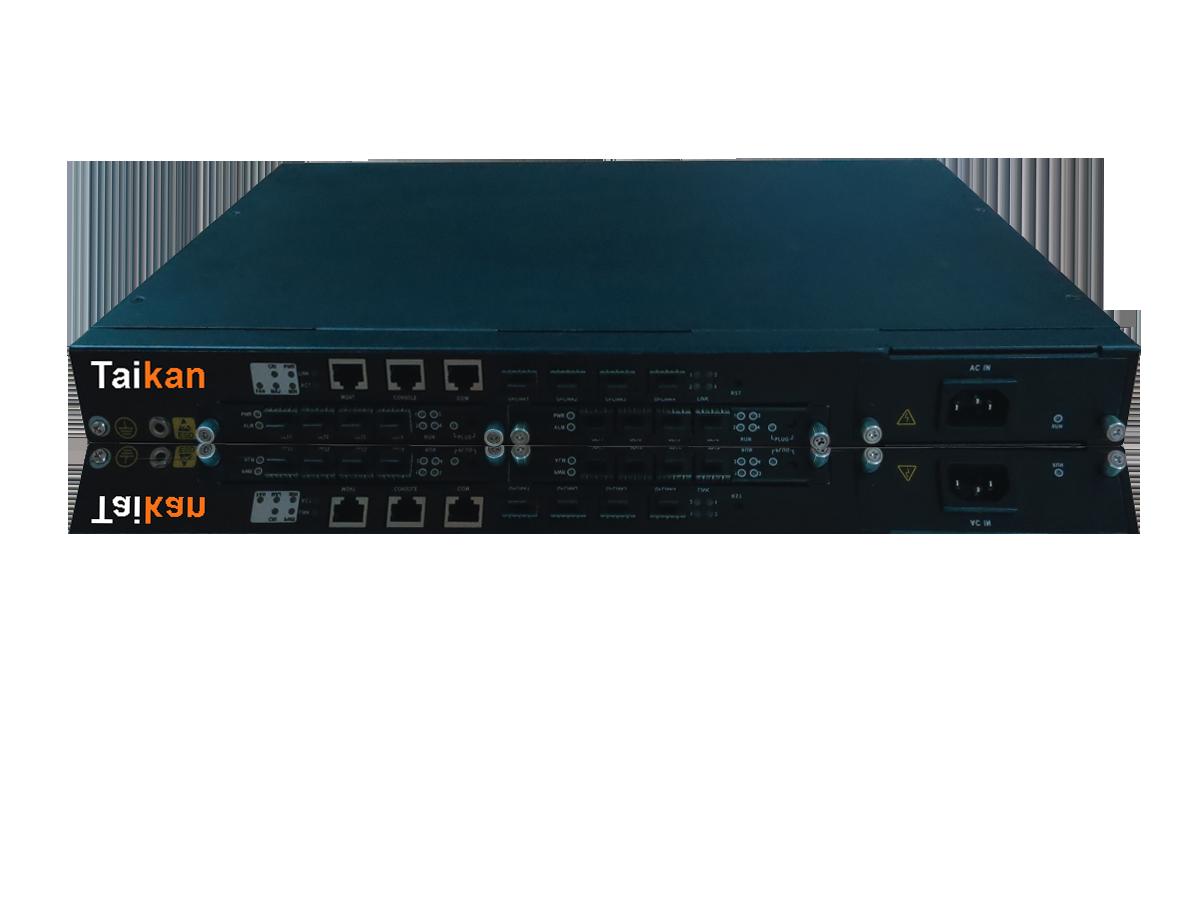 OLT optical line terminal fiber pon scte taikan for network infrastructure equipment and hardware