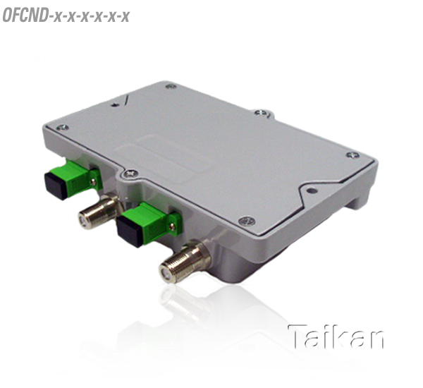 dual fiber optical node