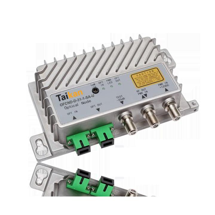 OFCND dual fiber optical node sc/apc connector fiber hfc taikan scte
