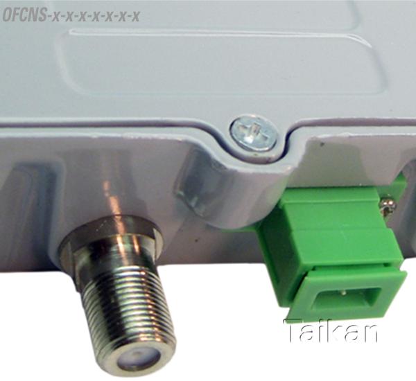 OFCNS mini node single dual fiber optical node sc/apc connector fiber hfc taikan scte