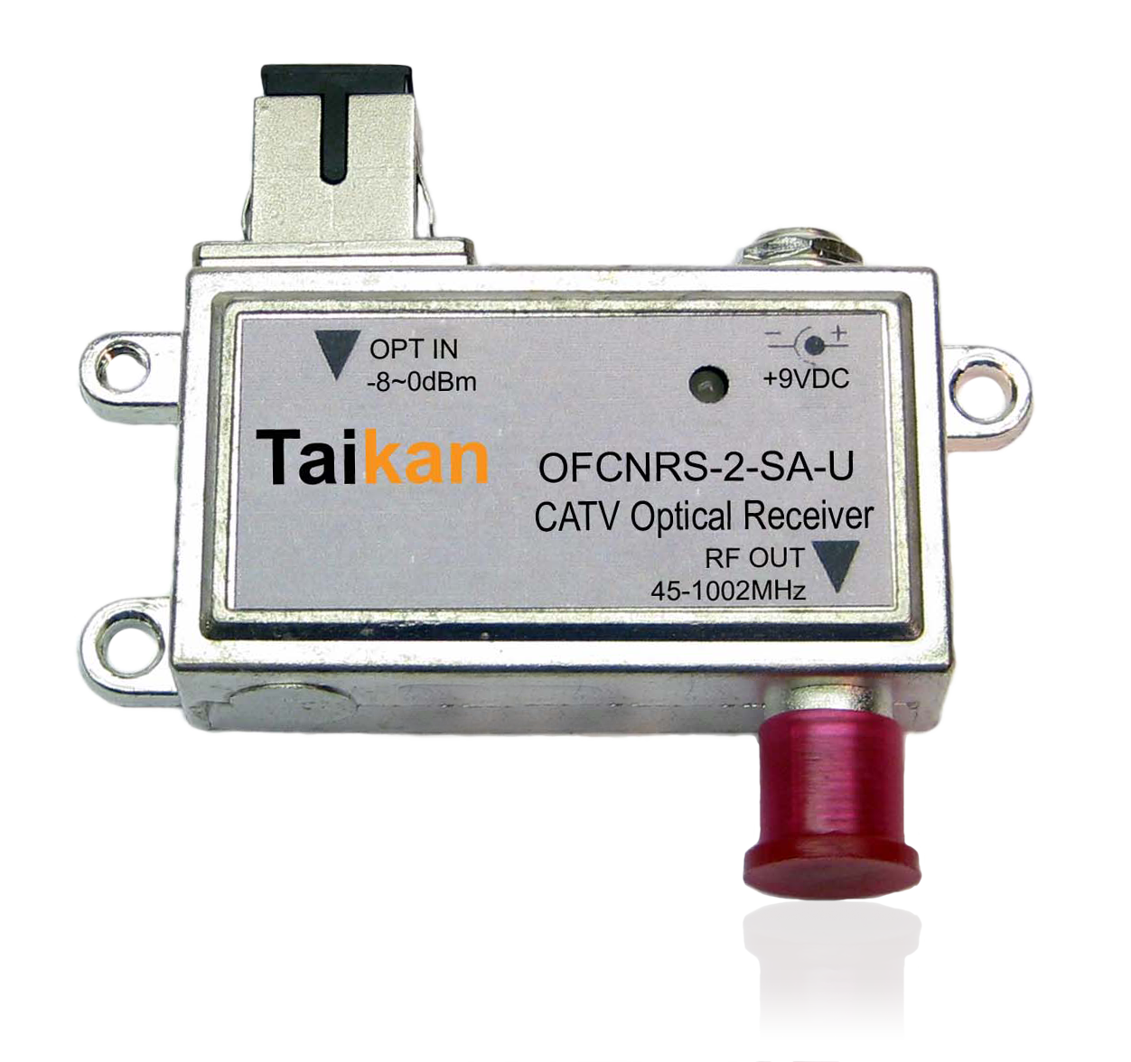 OFCNRS Receive only optical node fiber hfc taikan scte for network infrastructure equipment and hardware