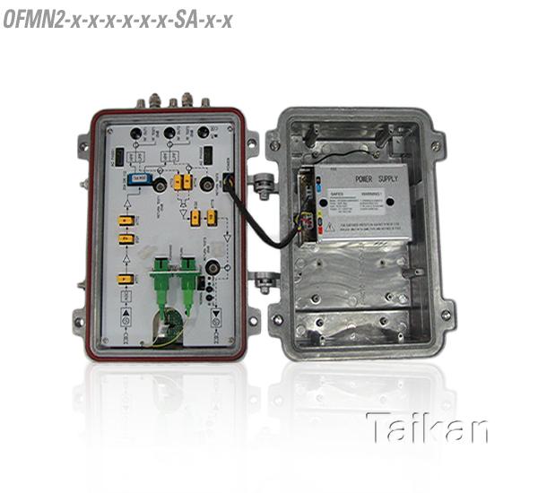 2 rf port mdu premise optical node