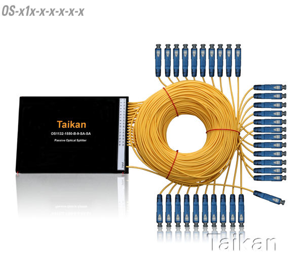 Fiber pon optical splitter