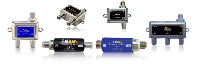Galvanic Isolators CATV Network Customer Premise Equipment Taikan SCTE