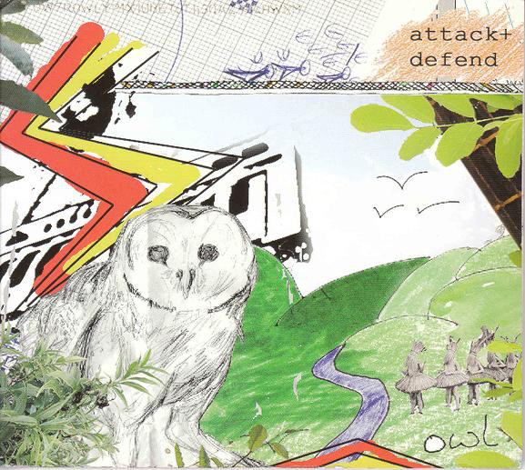 "Attack + Defend - Owl EP   9/10 ""' Owl EP' exceeds any kind of expectation for a debut release, and if anything, raises the bar somewhat for other artists in the future, as any one of the five songs here could stand alone as an a-side to be reckoned with in its own right""   Drowned In Sound"