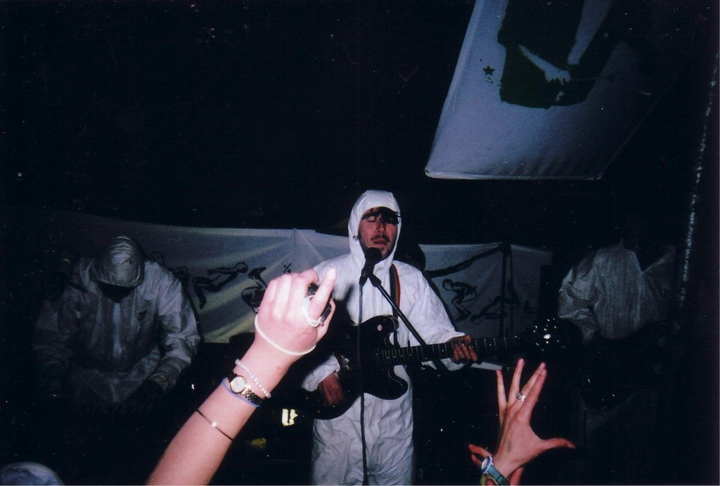 Illegal rave, Radnorshire 2006