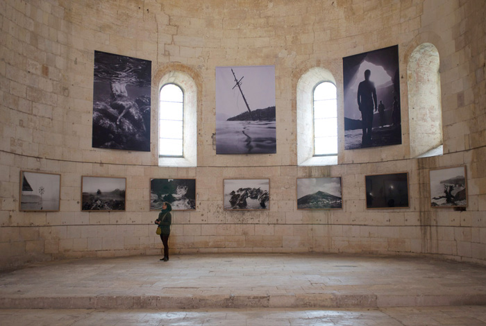 Franck Pourcel - Abbaye Montmajour / Arles - 2013