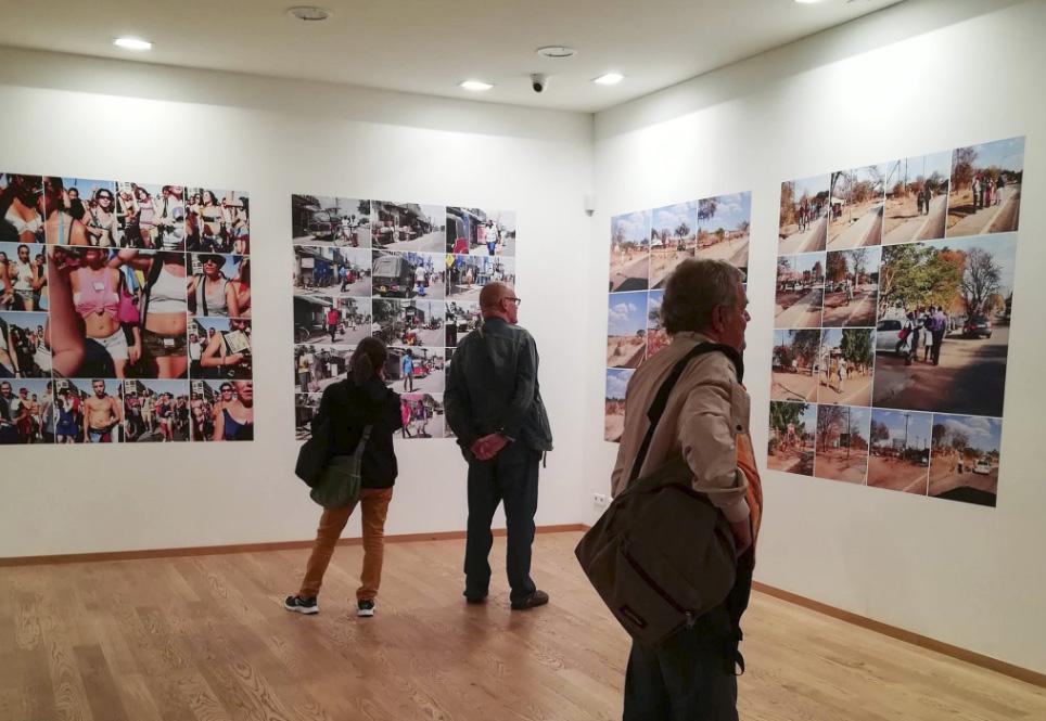 Abed Abidat - Galerie Maupetit - 2017