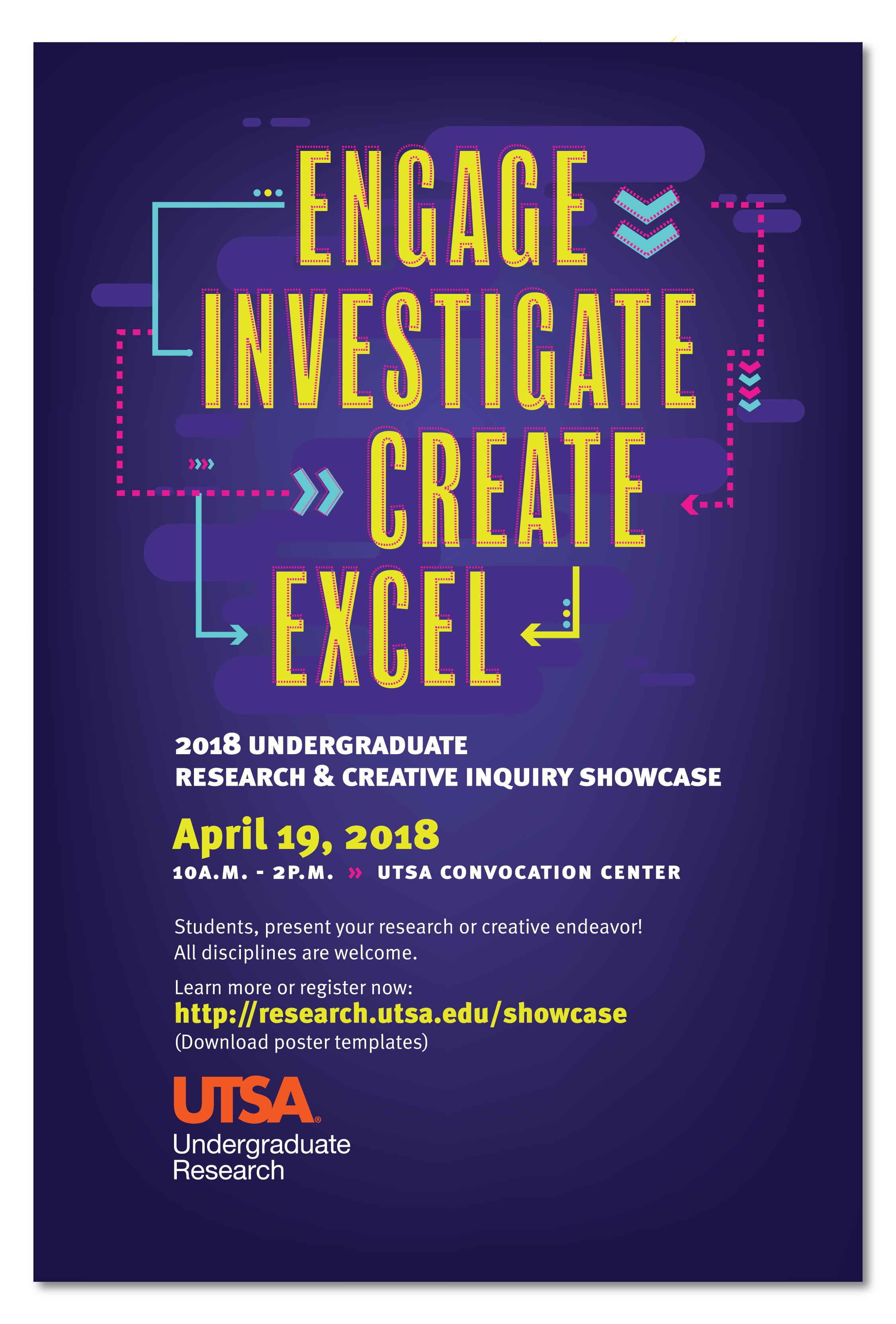 2018 Undergraduate Research & Creative Inquiry Showcase Poster
