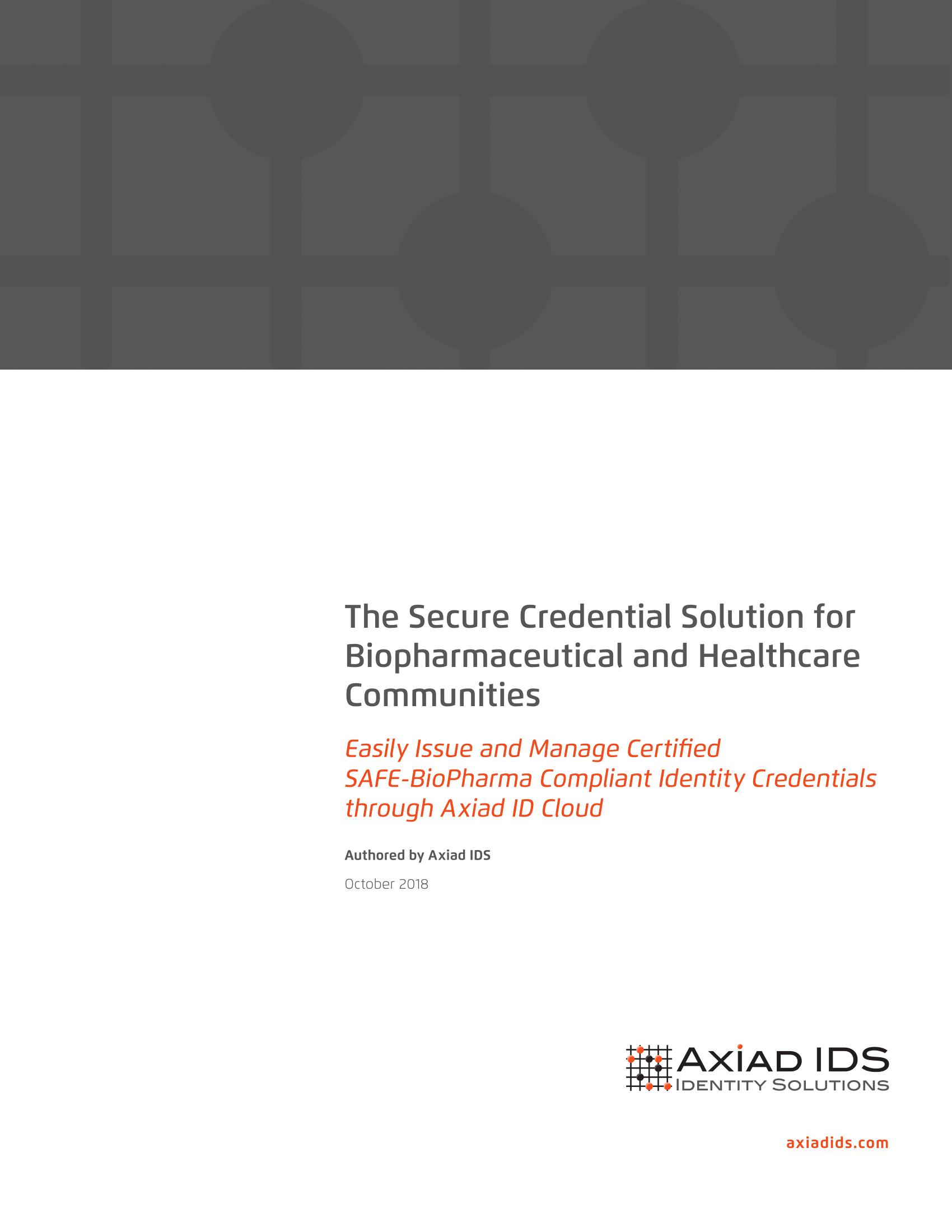 SAFE-BioPharma White Paper