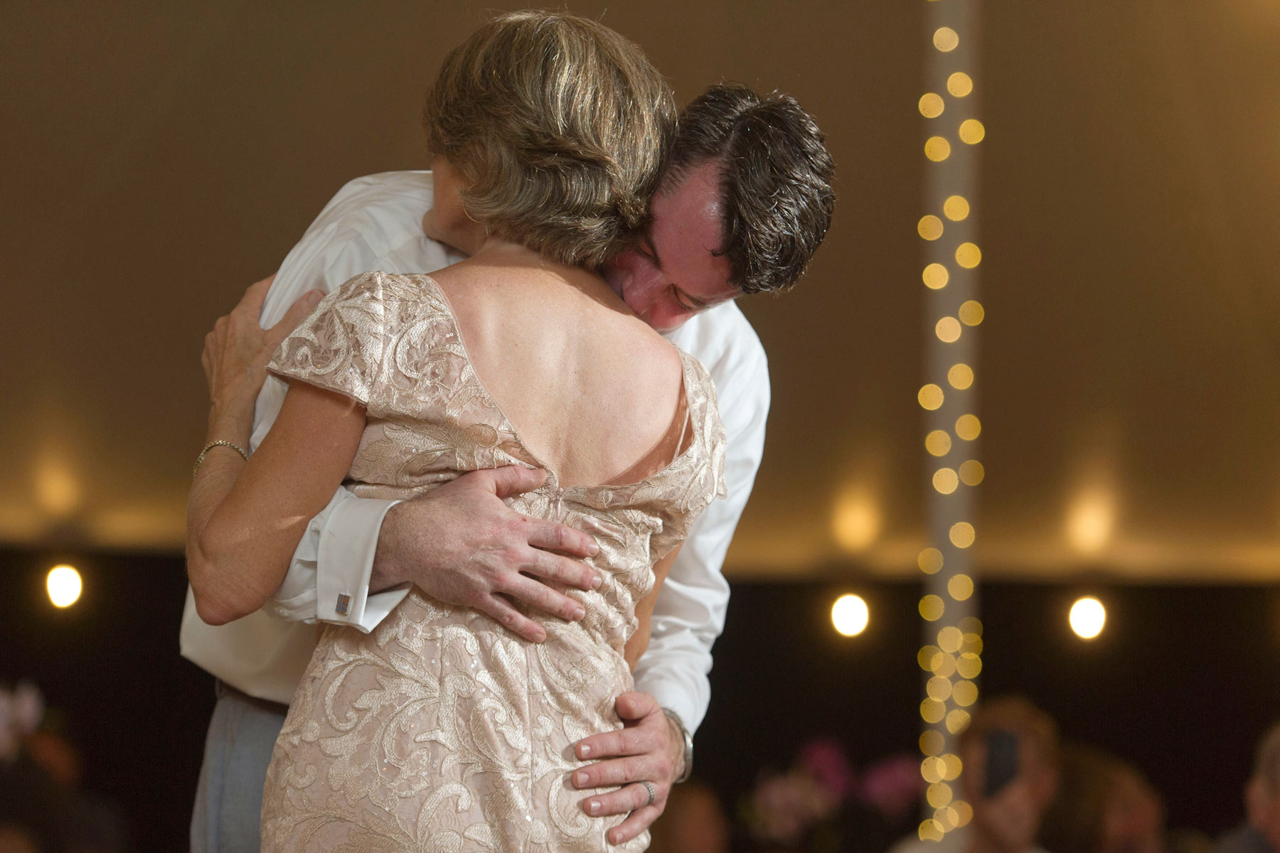 Mother and son dance at his wedding