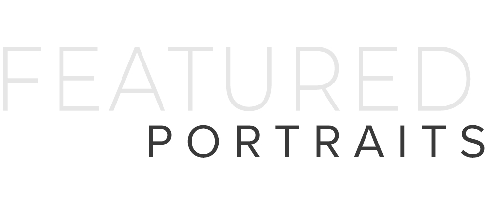 Featured Portrait Sessions header text image