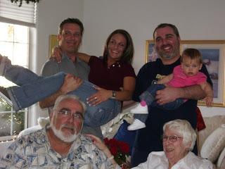 3 Generations pictured here. This was Grandmother's last visit to AZ