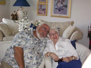 Grandmother and my Grandpa Ferroni