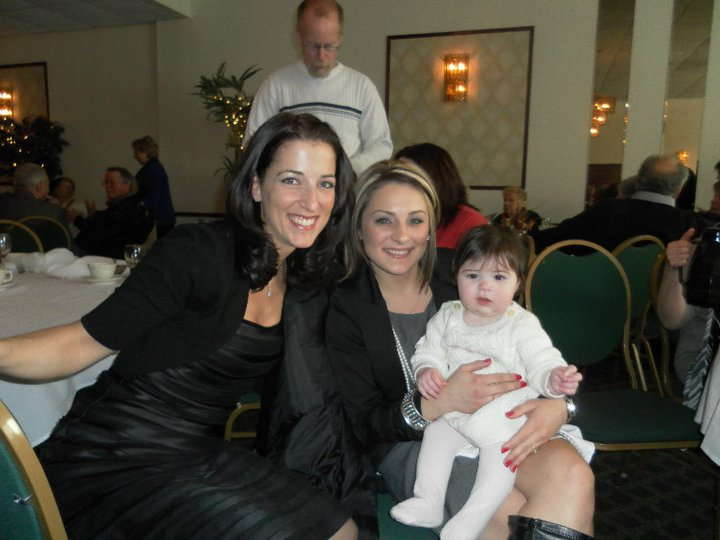 Cousin Julie Beth and her sweet daughter