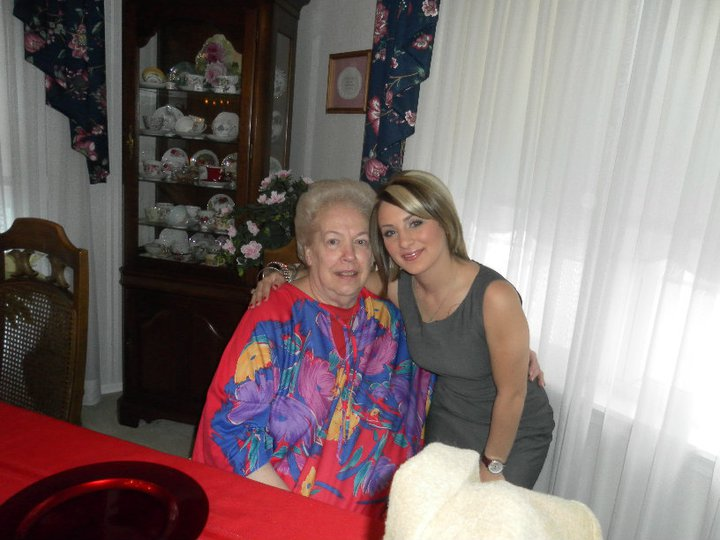 My great Aunt Carol and I