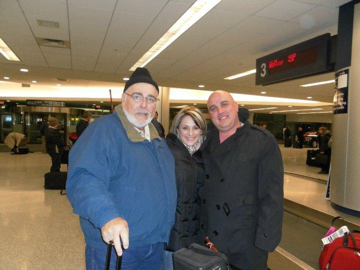 Just landed in freezing cold Buffalo, NY
