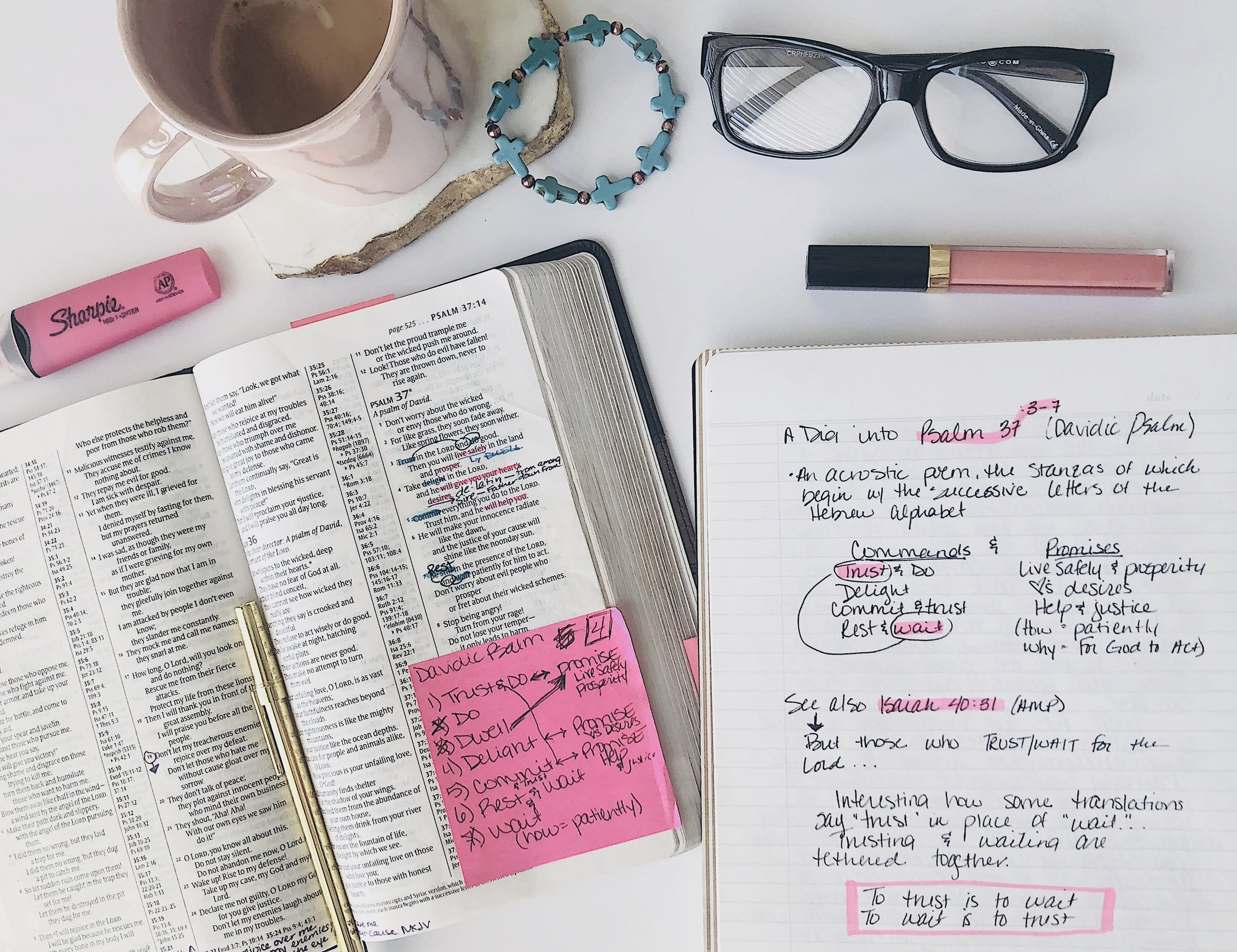 Trust and Wait - A Journey Through Psalm 37