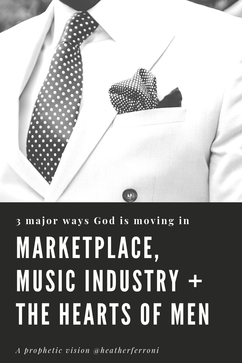 3 Major Ways God is Moving in the Marketplace, Music Industry & in the Hearts of Men