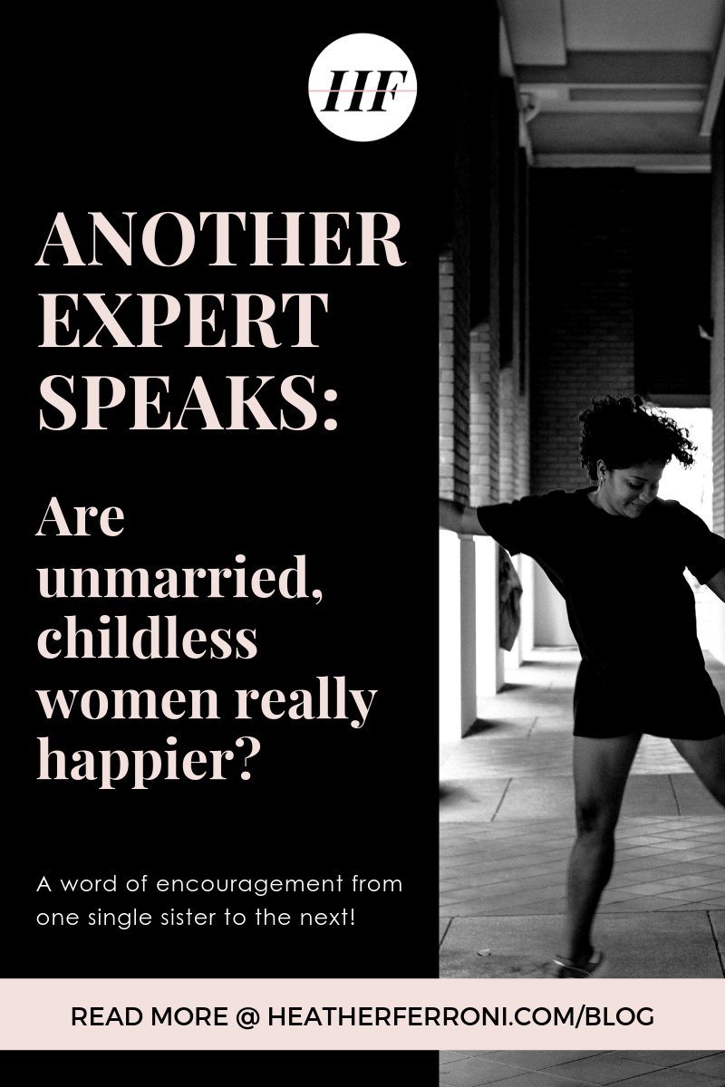 Are single, childless women truly happier?